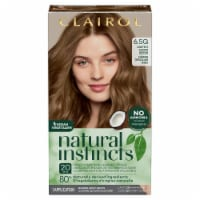 Clairol Healthy Looking Natural Instincts 6.5G Lightest Golden Brown Hair Color
