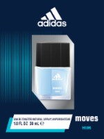 Adidas Moves for Him Natural Spray