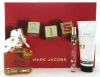 Daisy by Marc Jacobs 3.4 oz.& 10 ml. EDT Spray + 2.5 oz. B/Lot. New Women's Set - 3.4 OZ + 10ml + 2.5 OZ
