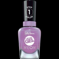 Sally Hansen Miracle Gel Neon 054 Violet Voltage Nail Color - 1 ct