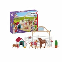 Schleich Horse Club Hannah's Guest Horses with Ruby the Dog Playset - 1 ct