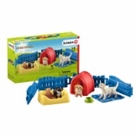 Schleich Farm World Puppy Pen Playset - 1 ct