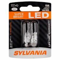 Sylvania Zevo 194 White T10 LED Bright Interior Exterior Light Bulb Set (2 Pack) - 1 Piece