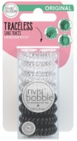 Invisibobble Original Traceless Hair Ring - Clear/Black - 8 ct