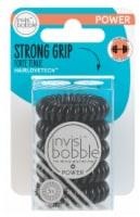 Invisibobble Power Hair Ring Multipack - True Black - 5 ct