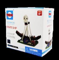 TICO Pirate Ship Micro Building Blocks Set