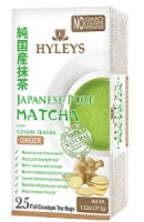 Hyleys Japanese Pure Matcha Tea with Ginger Ceylon Sencha  r
