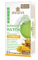 Hyleys Japanese Pure Matcha Tea with Turmeric Ceylon Sencha