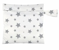 Charlie Banana  Multi Purpose Wet Tote Bag - Twinkle Little Star Grey