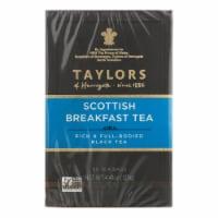 Taylors Of Harrogate Scottish Breakfast Tea Bags - Case of 6 - 50 BAG - 50 BAG