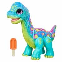 Hasbro furReal Snackin' Sam the Bronto Interactive Animatronic Dinosaur Plush Toy - 1 ct