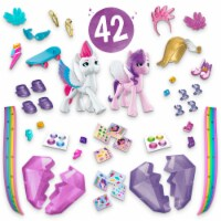 Hasbro My Little Pony: A New Generation Crystal Adventure Sisters Playset - 42 pc