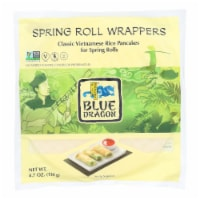 Blue Dragon Spring Roll Wrappers - 12 ct / 4.7 oz