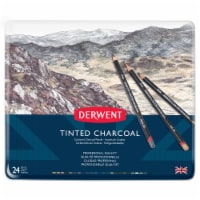 Derwent Professional Quality Tinted Charcoal Pencil Set