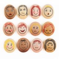 Yellow Door Emotion Stones - 12 pk