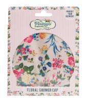 The Vintage Cosmetic Company Shower Cap - Floral