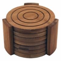 BergHOFF Bamboo Coaster Set - 7 pc