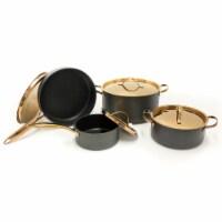 BergHOFF Hard Anodized Chef's Set - Black/Rose Gold