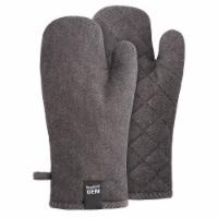 BergHOFF Gem Oven Glove Set - Black Denim - 2 pk