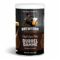 Brewferm Belgian Dubbel Damme 8.5 Percent ABV 2.5 Gal Craft Beer Mix, 9 Liter - 1 Piece