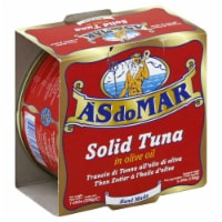 As Do Mar Solid Tuna In Olive Oil