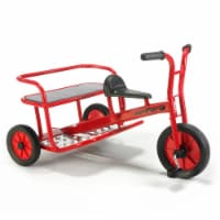 Winther Viking Twin Taxi Tricycle - Red