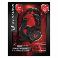 VX Gaming Team Series Gaming Headset with Mic - 1 ct