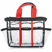 SHANY Clear Cosmetics Organizer and Travel Bag - 1 Each