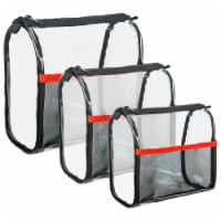 SHANY Clear Makeup Travel and Organizer Bag Set - 1 Each