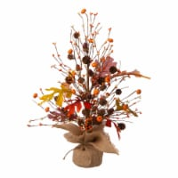 Glitzhome Harvest Table Tree Decoration