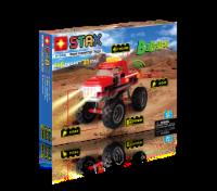 Light Stax Hybrid Monster Truck - Red