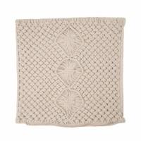 Glitzhome Diamond Handmade Rope Woven Pillow Cover