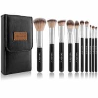 SHANY Black OMBRÉ Pro Essential Makeup Brush Set - 1 Each