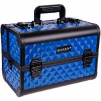 SHANY Fantasy Collection Makeup Train Case -Divine Blue - 1 Each