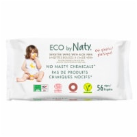 Eco by Naty Baby Wipes with Aloe Vera 672 Count
