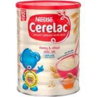 Nestle Cerelac Honey And Wheat With Milk - 400 Gm (14 Oz) - 1 unit