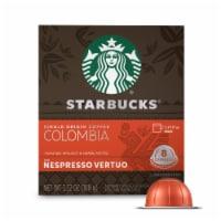Starbucks Nespresso Colombia Single Serve Coffee Capsules