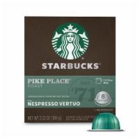 Starbucks Nespresso Pike Place Roast Single Serve Coffee Capsules