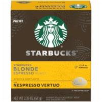 Starbucks Nespresso Blonde Espresso Roast Single Serve Coffee Capsules