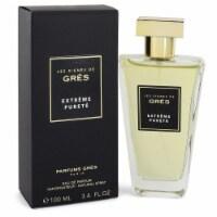 Extreme Purete by Gres Eau De Parfum Spray 3.4 oz - 3.4 oz