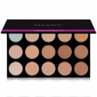SHANY Masterpiece Concealer-15 Color-  TONED - 1 Each