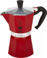 Bialetti Stove Top Espresso Maker - Red