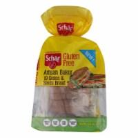 Schar Artisan Baker Gluten-Free 10 Grains & Seeds  - Case of 6 - 13.6 OZ - 13.6 OZ