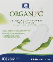 Organyc  Cotton Pads Heavy Flow Night