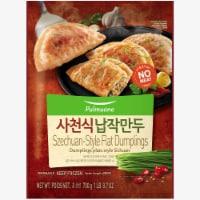 Pulmuone Szechuan Style Spicy Pan Fried Flat Dumplings - 24.7 oz