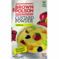 Brown And Polson Custard Powder Vanilla - 100 Gm (3.5 Oz) - 1 unit