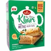 Haldiram's Tea Time Khari Mild Methi - 400 Gm (14.12 Oz) - 1 unit