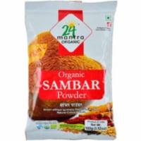 24 Mantra Organic Sambar Powder - 100 Gm (3.5 Oz) - 1 unit