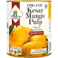 24 Mantra Organic Kesar Mango Pulp
