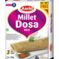 Aachi Millet Dosa Mix - 200 Gm (7 Oz) [Buy 1 Get 1 Free] - 1 unit